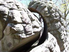 Rock Climbing Photo: a cool rock @ hp40