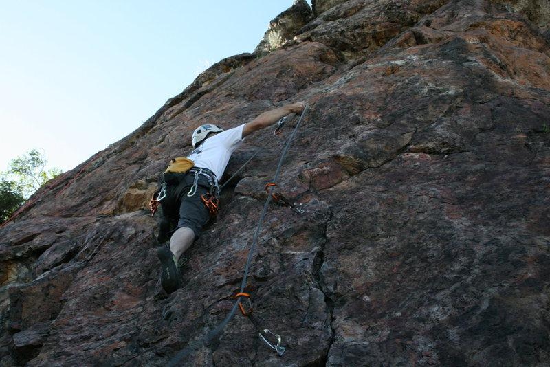Rock Climbing Photo: Clipping!!!!