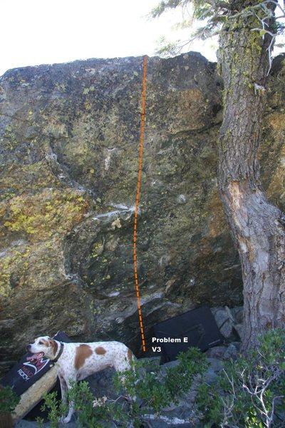 Warm Up Boulder Left III Topo