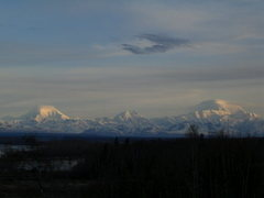 Rock Climbing Photo: Panoramic view of the Range from Talkeetna