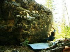Rock Climbing Photo: je suis nul
