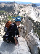 Rock Climbing Photo: Anne enjoying the spectacular summit and the rewar...