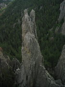 Rock Climbing Photo: from spire three