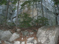 Rock Climbing Photo: This is what you see as you come through the talus...