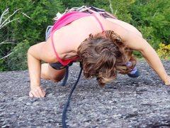 Rock Climbing Photo: No Steenkin Ledges!  Photo Taken by Jon Jugenheime...