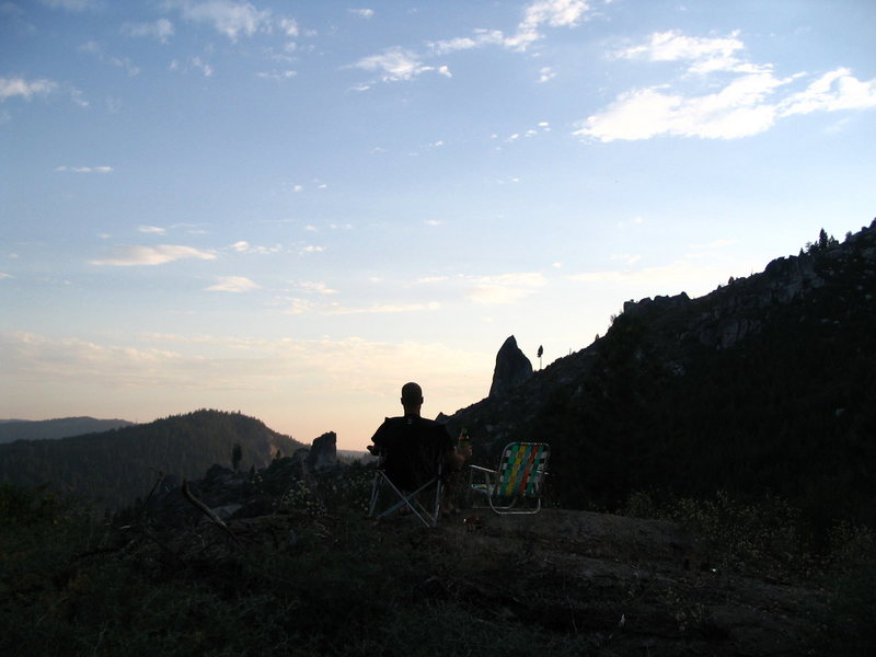 Rock Climbing Photo: Good day at the Spires