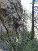 Rock Climbing Photo: Jesse warming up at Sky Valley... Pic taken by Che...