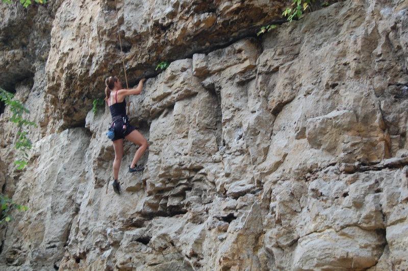 Rock Climbing Photo: Carly