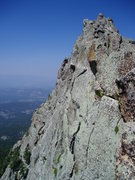 Rock Climbing Photo: More beautiful ridgeline on Mt. Thorodin. Wish it ...