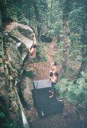 Rock Climbing Photo: meat hook