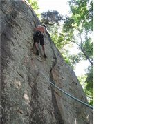 Rock Climbing Photo: hope that gri gri checks out