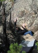 Rock Climbing Photo: Unknown climber on Jaba