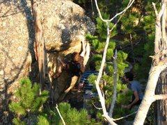 Rock Climbing Photo: Chase Gardner on Jaba.