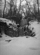 Rock Climbing Photo: Lucifer's Arboretum.  Two tiers of vertical ice an...