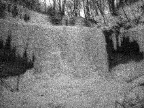 Rock Climbing Photo: Waterfall Ice