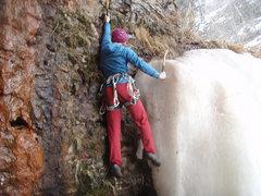Rock Climbing Photo: Late season mixed bouldering
