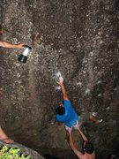 Rock Climbing Photo: Summer night bouldering beneath Baldy