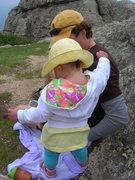 Rock Climbing Photo: Elise on Harney