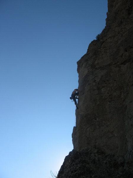 "Rock Climbing Photo: Anonymous climber (nice guy, though) on ""Boy,..."