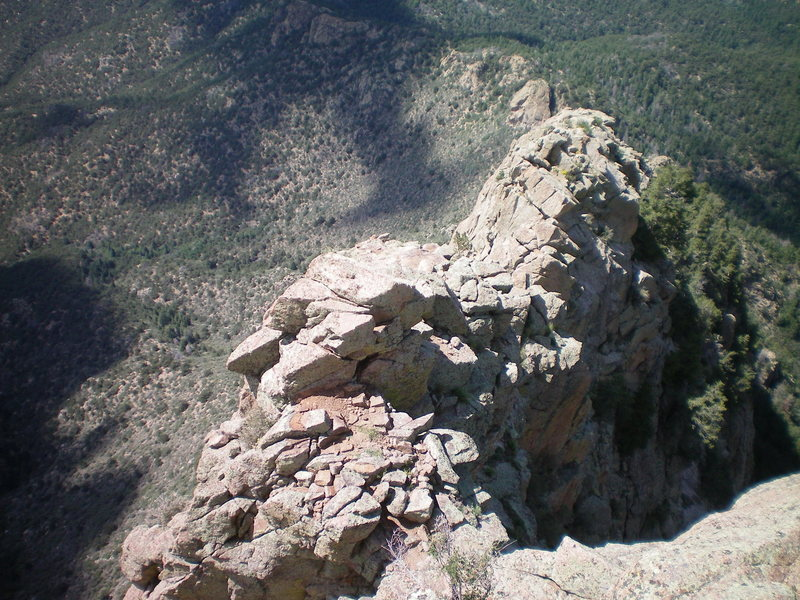 Rock Climbing Photo: The lower section of the 5th class