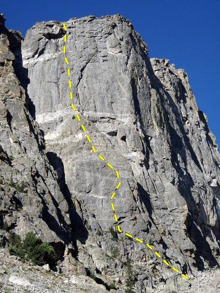 Rock Climbing Photo: Love at First Sight.
