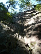Rock Climbing Photo: Penitent Crack 5.7