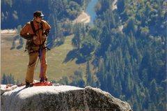 Rock Climbing Photo: Lost Arrow Solitude.