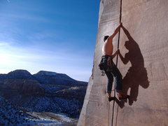 Rock Climbing Photo: Sweeden's Ringle, Indian Creek.  Photo by Timmy To...