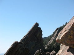 Rock Climbing Photo: Picture of the third flatiron!