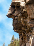 Rock Climbing Photo: This route is so fun.