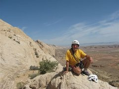 Rock Climbing Photo: On top...Totally fried . View along the Northern p...