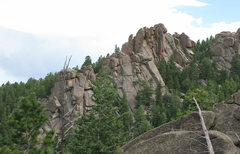 Rock Climbing Photo: You can see most of the formation.