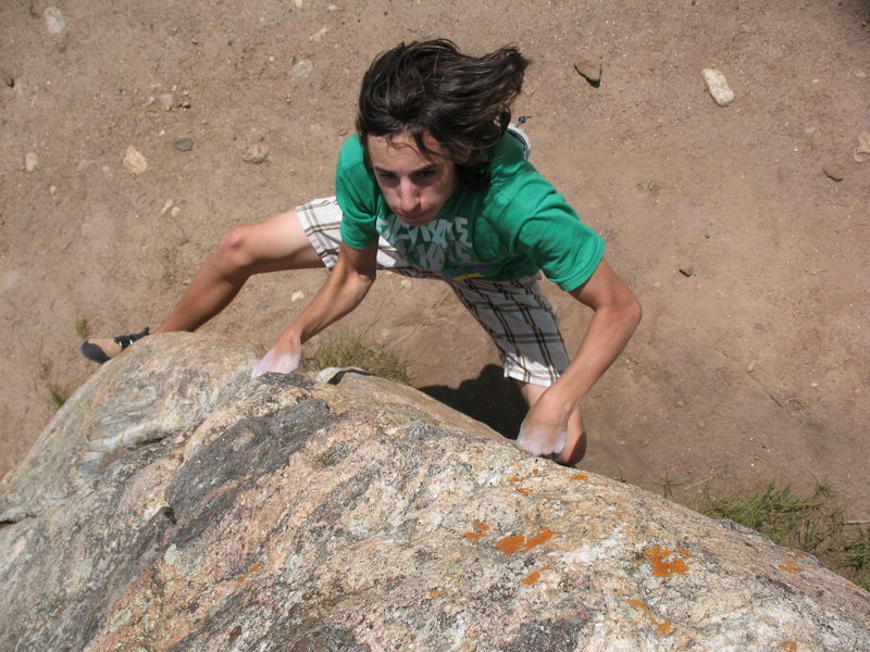 Rock Climbing Photo: photo by Lynn Sanson