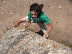 Rock Climbing Photo: photo by Lynn Sanson