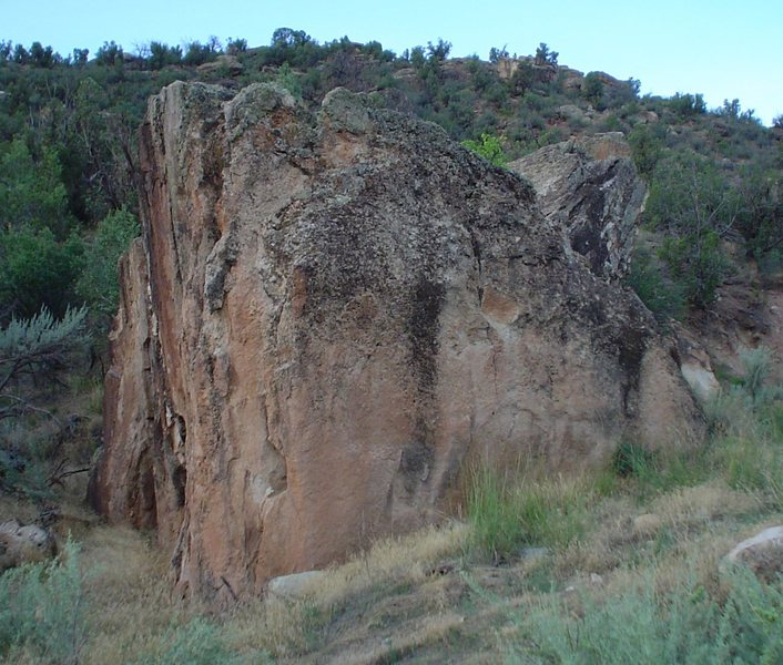 Rock Climbing Photo: Continuum Transfunctioner Boulder.