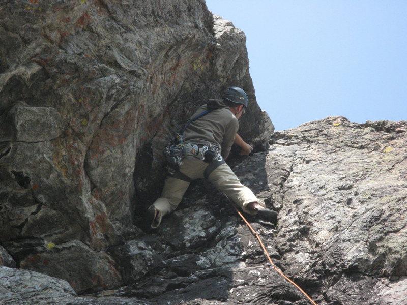 Rock Climbing Photo: hallett's