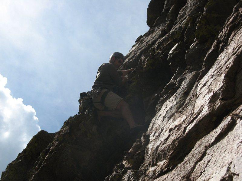 Rock Climbing Photo: Zowie