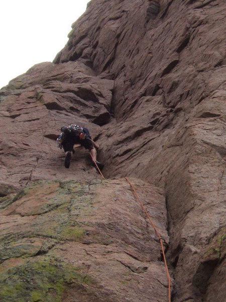 Rock Climbing Photo: Bush Shark's first pitch