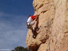 Rock Climbing Photo: At clip 3.