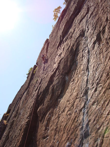 This was a fun climb that I will definitely go back to lead.