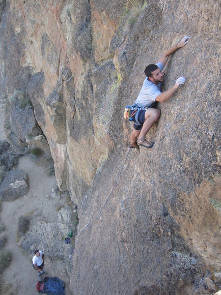 Rock Climbing Photo: just me again...