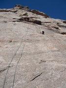 Rock Climbing Photo: Soloing Counter Strike.
