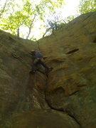 Rock Climbing Photo: Esse Crack, New River Gorge