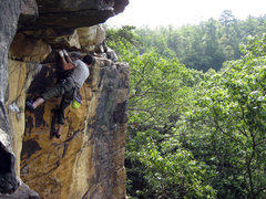 Rock Climbing Photo: Hutch is done with Premarital Bliss, Endless Wall