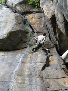 Rock Climbing Photo: Hutch on the super fun upper section of Smooth Ope...