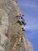 Rock Climbing Photo: Livin' life on the edge.