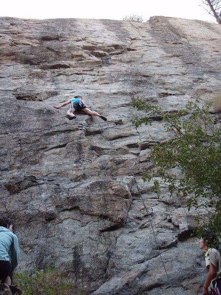 Rock Climbing Photo: Sarah rockin the Runcible Spoon.