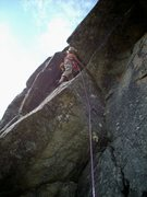 Rock Climbing Photo: cool roof at monolith