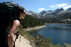 Rock Climbing Photo: Starting the trek to Palisade Basin