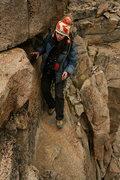 Rock Climbing Photo: careful steps